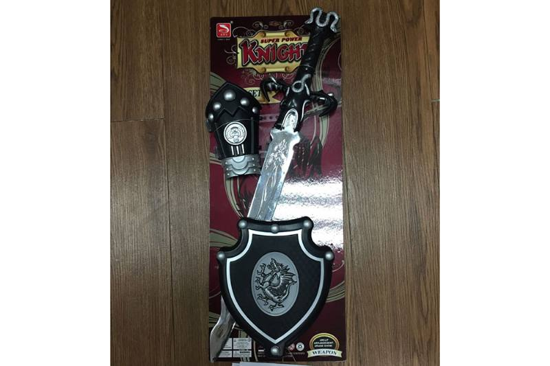 Simulation weapon toy Silver spray long sword (with IC)  No.TA257575