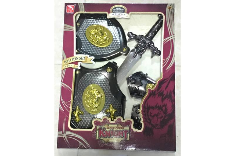 Simulation weapon toy Black gold sword (with IC)  No.TA257583