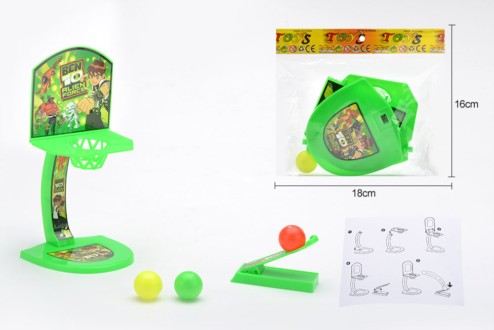 BEN10 pattern launch basketball board (with three balls)No.TA255967