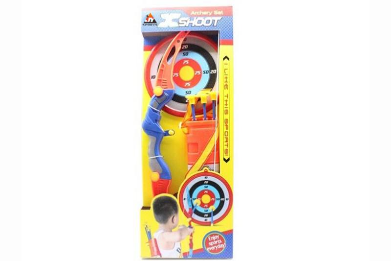 Military shooting toy bow and arrow set NO.TA261665