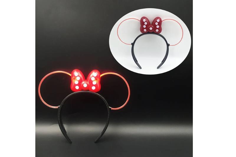 Flash toy Mickey Flash Hair Clip (Red Tube) No.TA254716