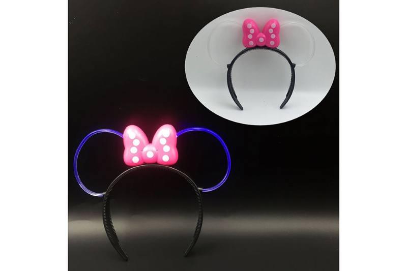 Flash toy Mickey Flash Hair Clip (White Tube) No.TA254717