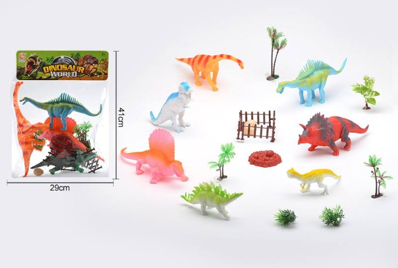 Animal and plant simulation model toy Dinosaur World No.TA255450