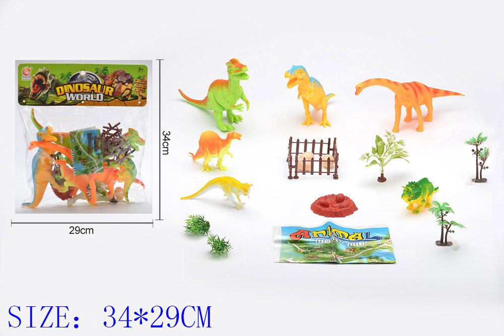 Animal and plant simulation model toy Dinosaur World No.TA255451