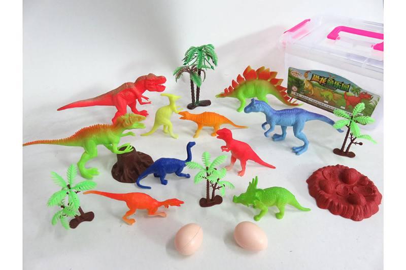 Animal and plant simulation model toy scene static dinosaur No.TA255781