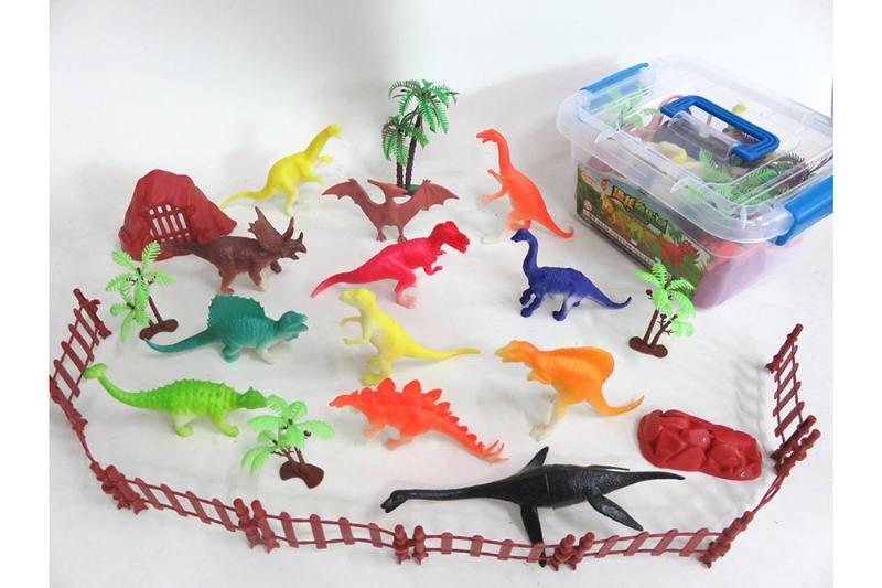 Animal and plant simulation model toy scene static dinosaur No.TA255782