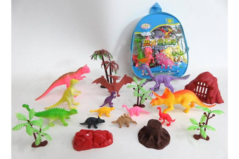Animal and plant simulation model toy scene static dinosaur No.TA255783