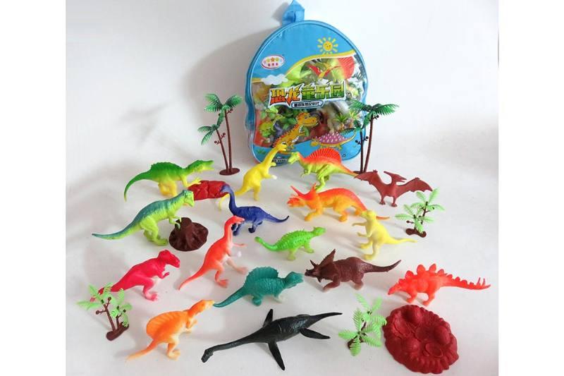 Animal and plant simulation model toy scene static dinosaur No.TA255786