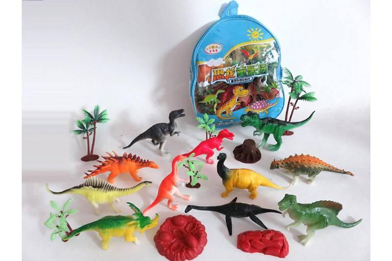 Animal and plant simulation model toy scene static dinosaur No.TA255787