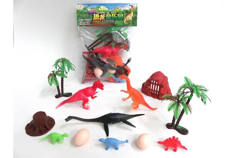 Animal and plant simulation model toy scene static dinosaur No.TA255788