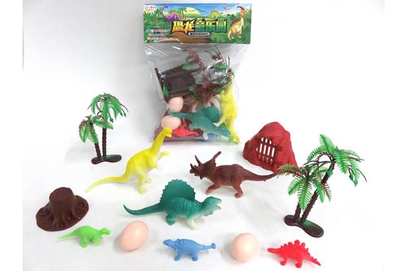 Animal and plant simulation model toy scene static dinosaur No.TA255789
