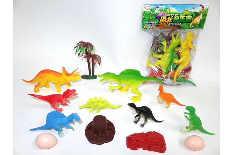 Animal and plant simulation model toy scene static dinosaur No.TA255792