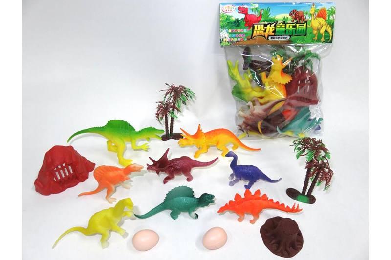 Animal and plant simulation model toy scene static dinosaur No.TA255794