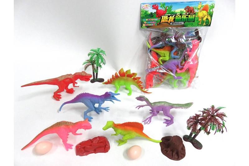 Animal and plant simulation model toy scene static dinosaur No.TA255795