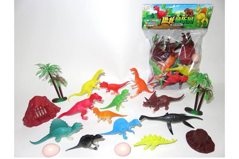 Animal and plant simulation model toy scene static dinosaur No.TA255796