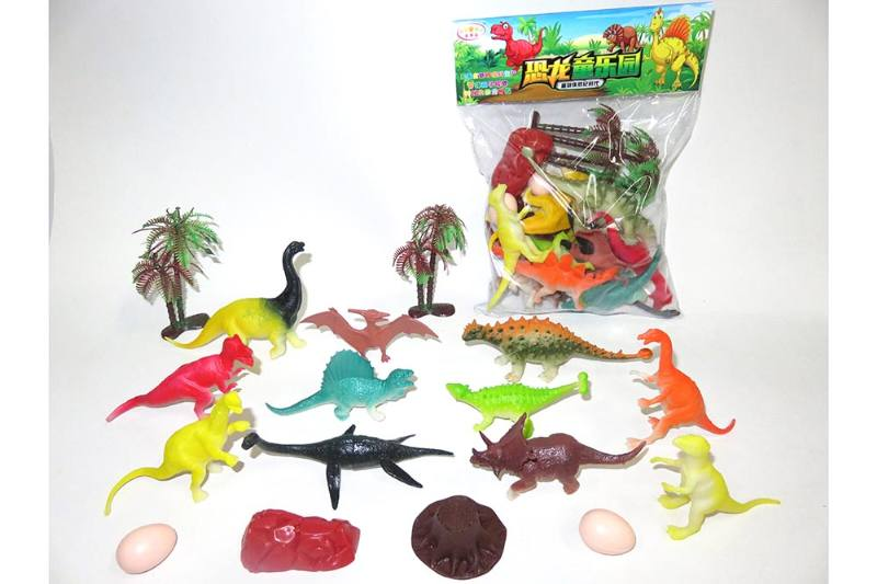Animal and plant simulation model toy scene static dinosaur No.TA255798