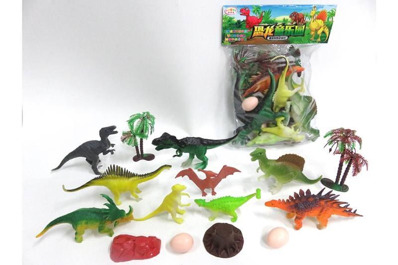 Animal and plant simulation model toy scene static dinosaur No.TA255799