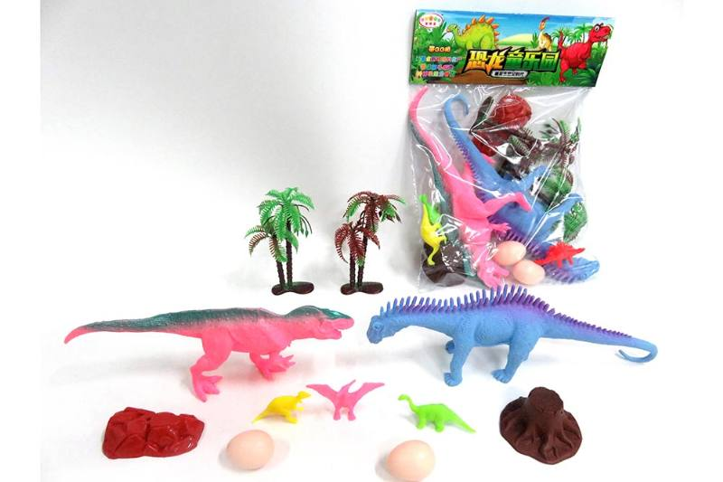 Animal and plant simulation model toy Scene static dinosaur (with BB whistle) No.TA255801