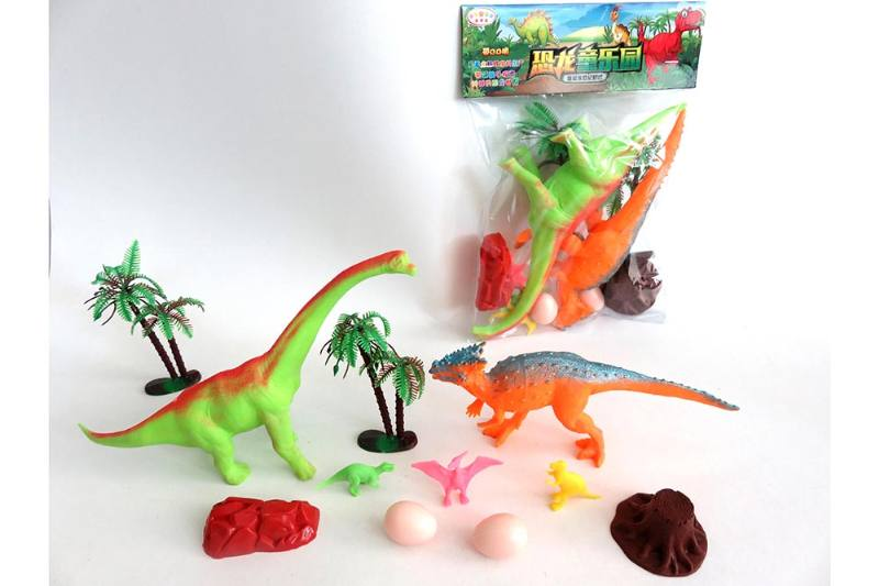 Animal and plant simulation model toy Scene static dinosaur (with BB whistle) No.TA255802