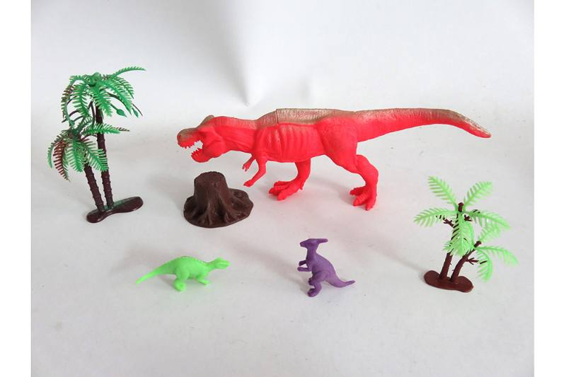 Animal and plant simulation model toy Scene static dinosaur (with BB whistle) No.TA255803