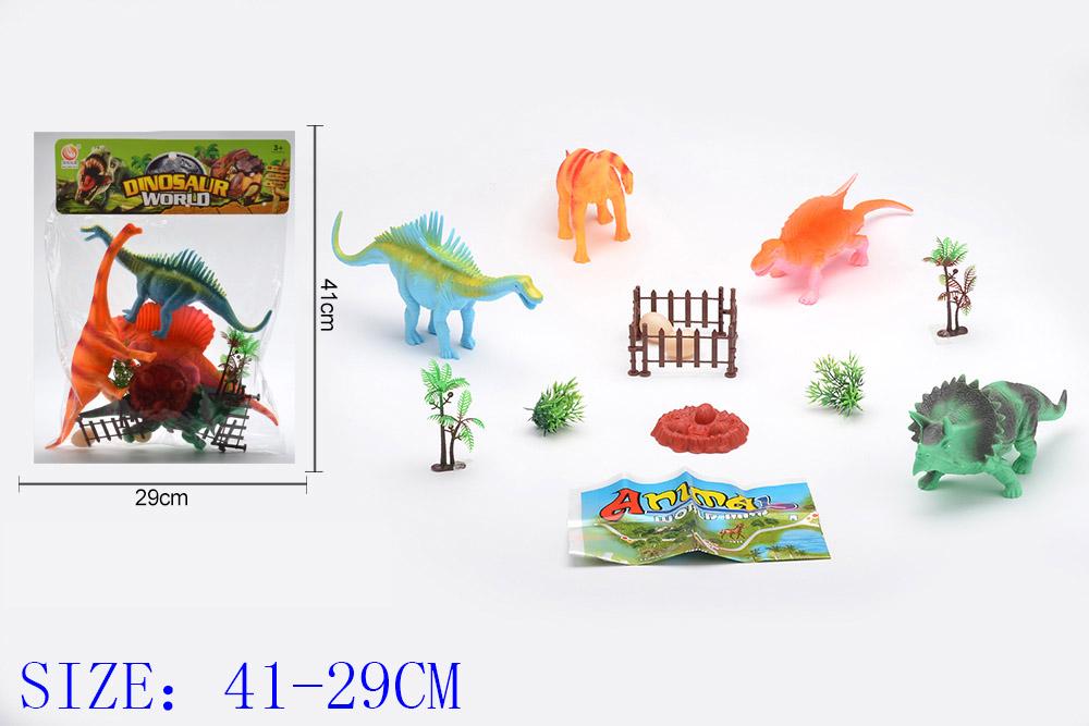 Animal and plant simulation model toy Dinosaur WorldNo.TA255949