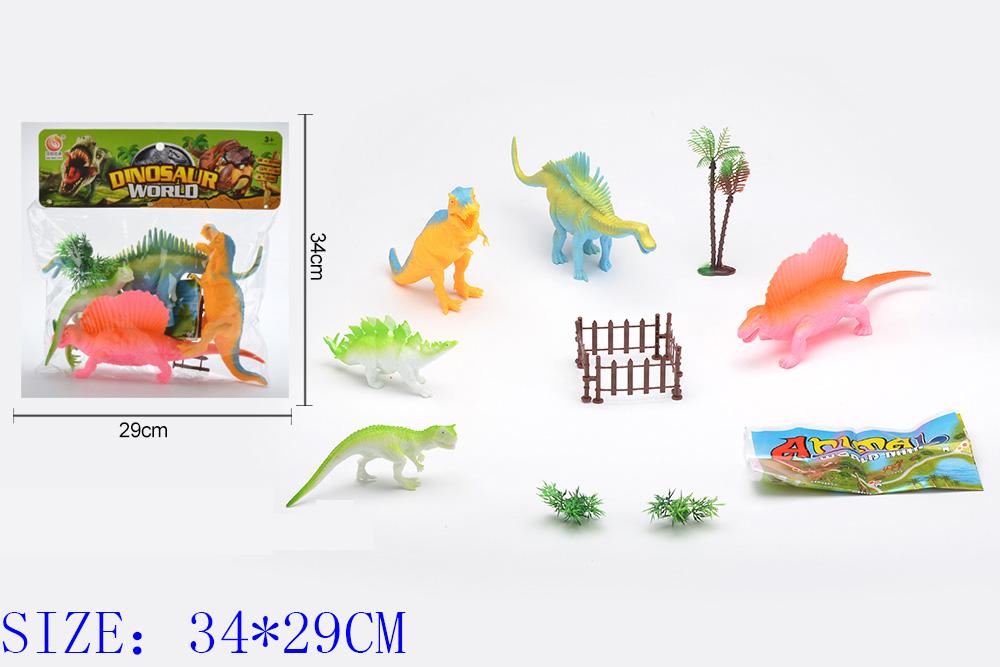 Animal and plant simulation model toy Dinosaur WorldNo.TA255950