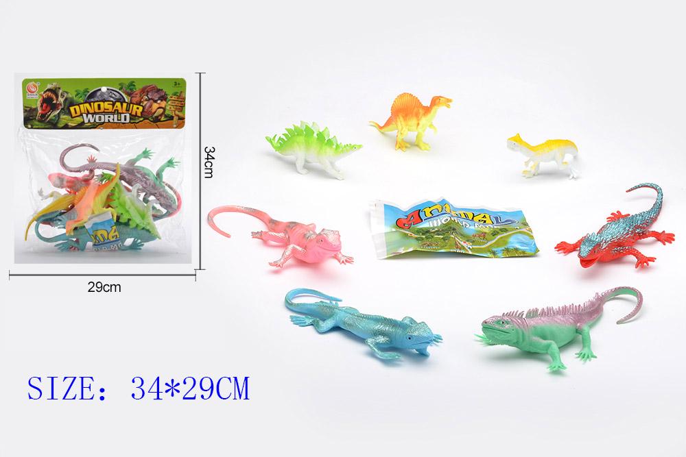 Animal and plant simulation model toy Dinosaur WorldNo.TA255952