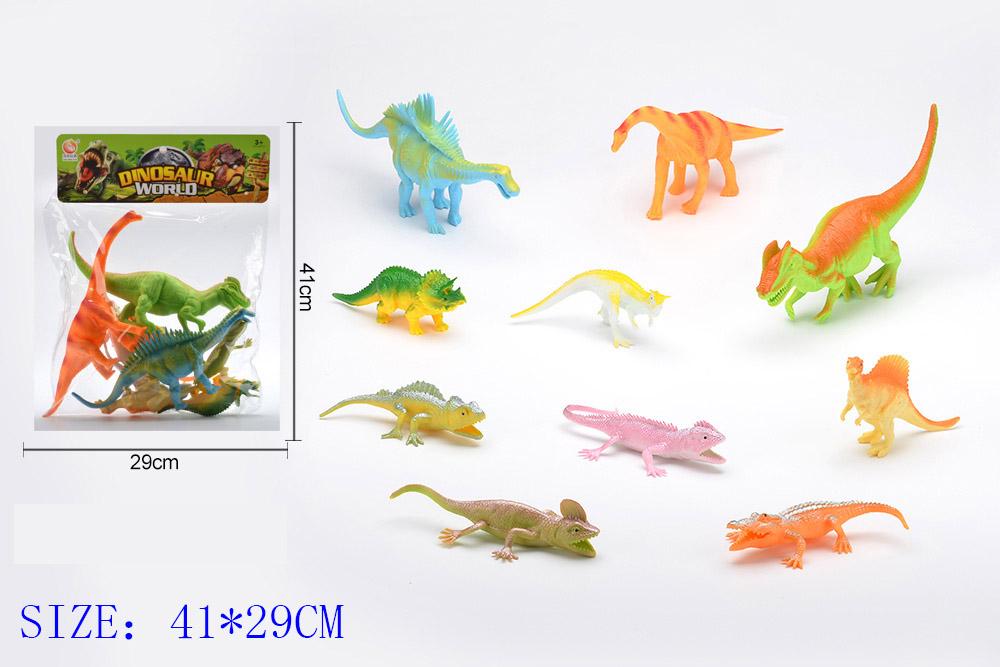 Animal and plant simulation model toy Dinosaur WorldNo.TA255953
