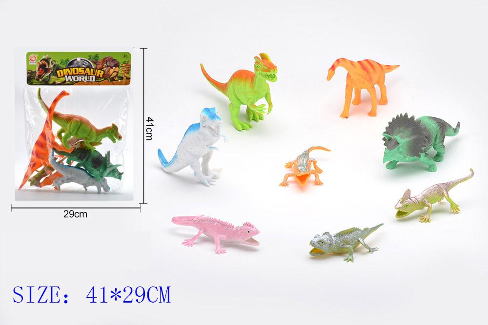 Animal and plant simulation model toy Dinosaur WorldNo.TA255954