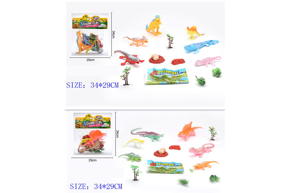 Animal and plant simulation model toy Dinosaur WorldNo.TA255955