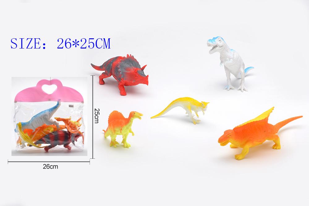Animal and plant simulation model toy Dinosaur WorldNo.TA255956