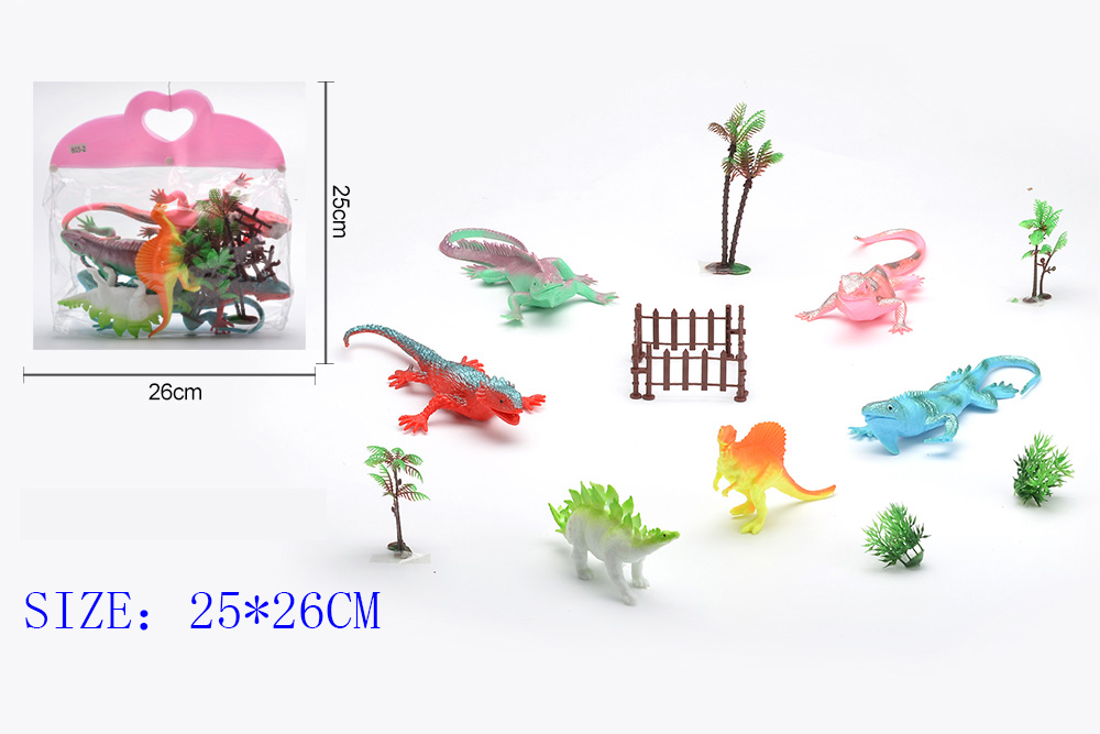Animal and plant simulation model toy Dinosaur WorldNo.TA255957