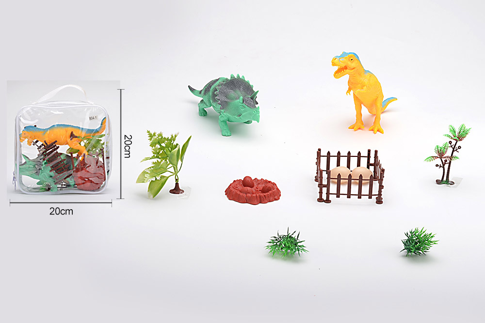 Animal and plant simulation model toy Dinosaur WorldNo.TA255959