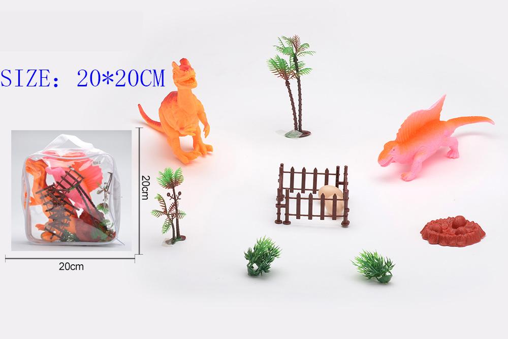Animal and plant simulation model toy Dinosaur WorldNo.TA255960