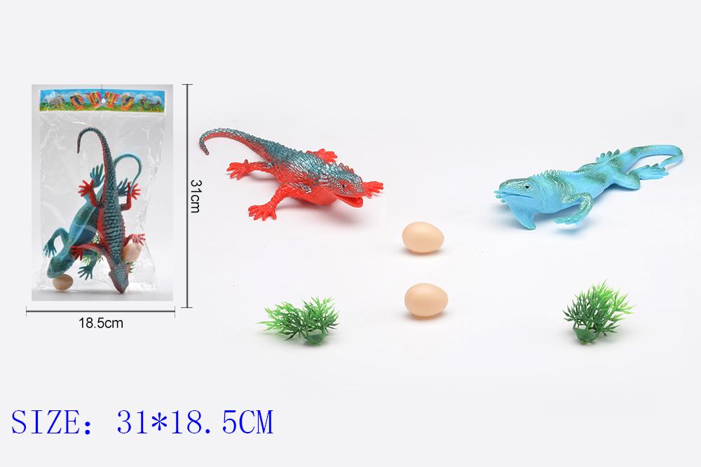 Animal and plant simulation model toy Dinosaur WorldNo.TA255963