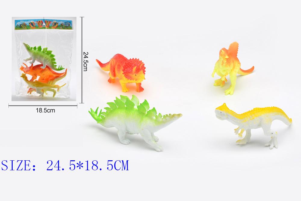 Animal and plant simulation model toy Dinosaur WorldNo.TA255964