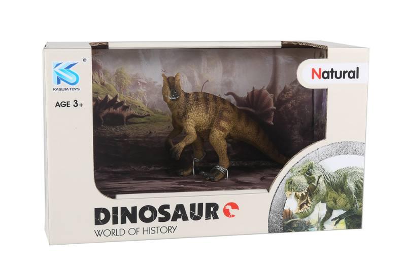 Animal model toy solid dinosaur set No.TA260466