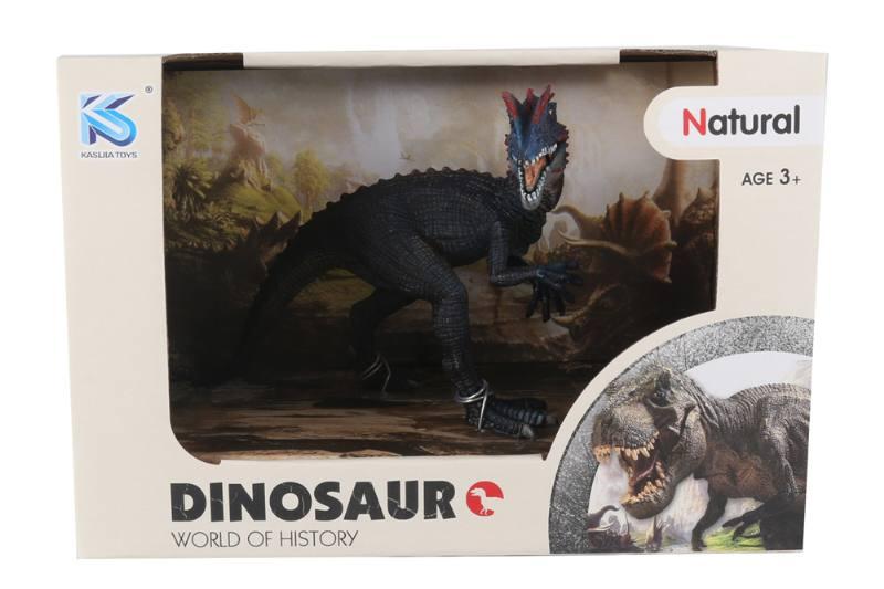 Animal model toy solid dinosaur set No.TA260477