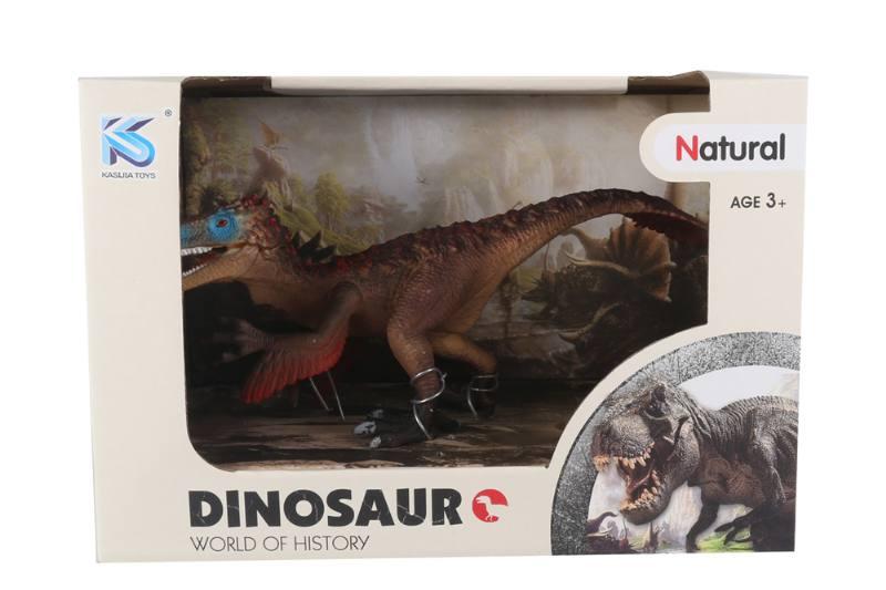 Animal model toy solid dinosaur set No.TA260484