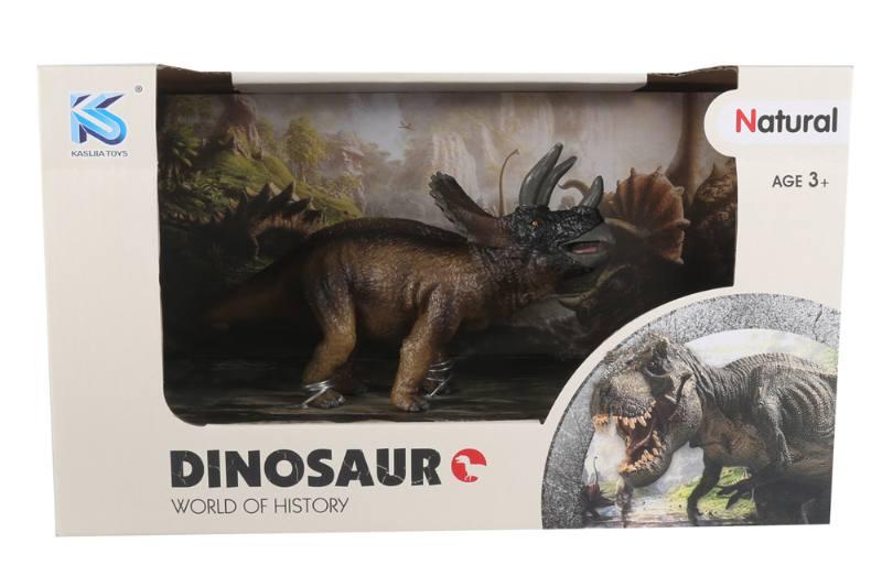 Animal model toy solid dinosaur set No.TA260485