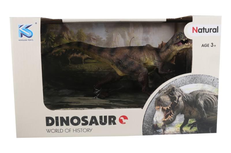 Animal model toy solid dinosaur set No.TA260489