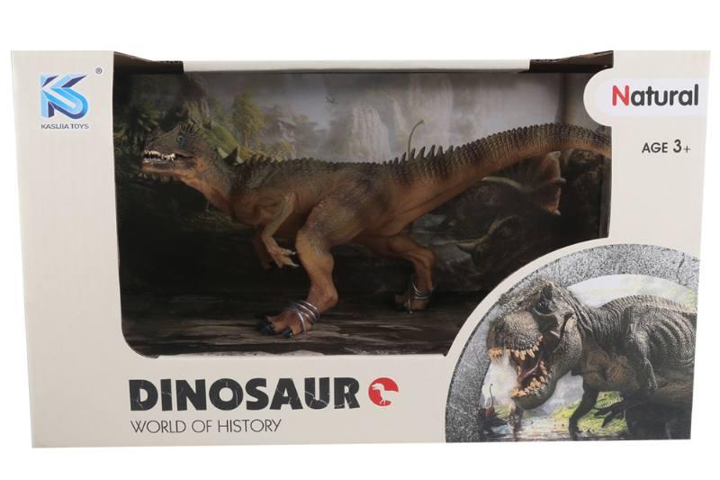 Animal model toy solid dinosaur set No.TA260492