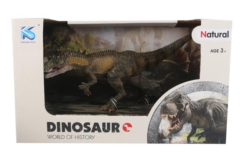 Animal model toy solid dinosaur set No.TA260494