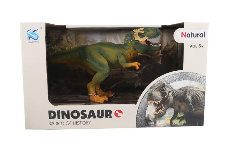 Animal model toy solid dinosaur set No.TA260497