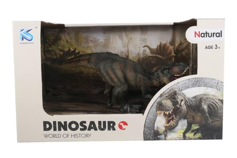Animal model toy solid dinosaur set No.TA260504