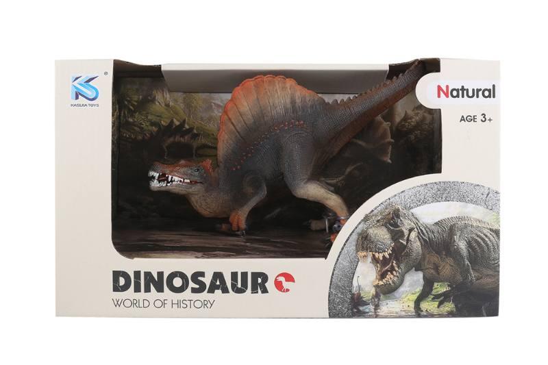 Animal model toy solid dinosaur set No.TA260507