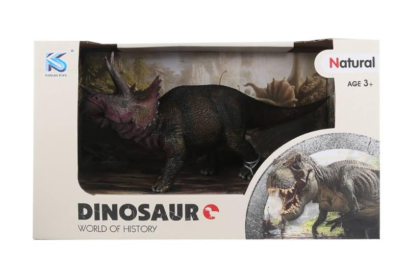 Animal model toy solid dinosaur set No.TA260509