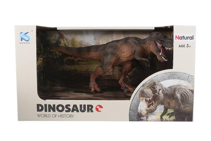 Animal model toy solid dinosaur set No.TA260512