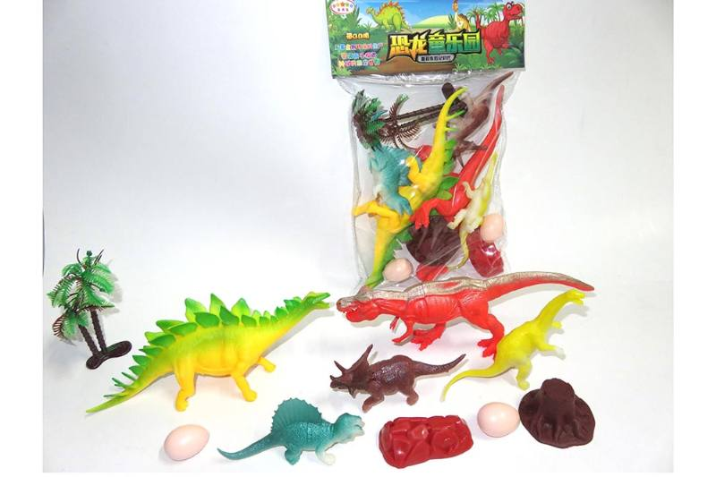 Animal and plant model toy Simulation scene dinosaur (with BB whistle) No.TA260613