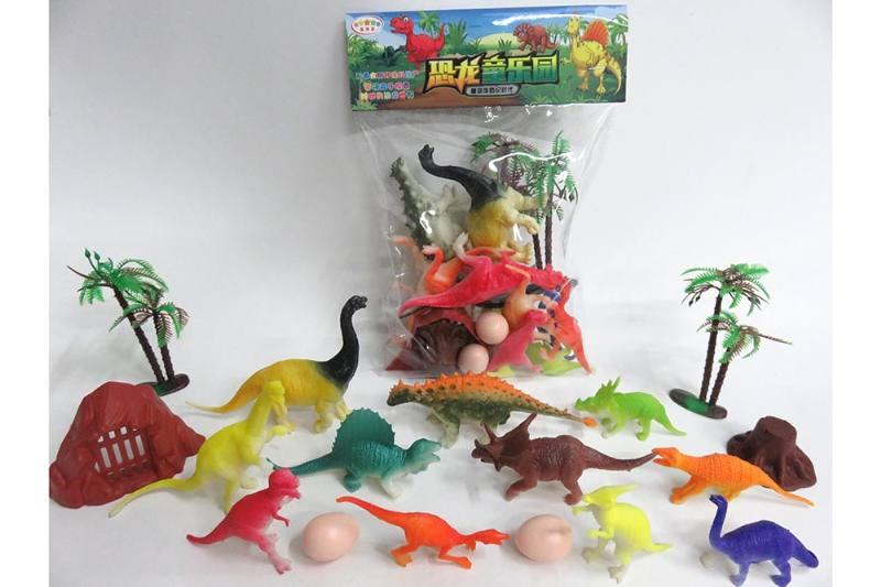Animal and plant model toy simulation scene dinosaur No.TA260621